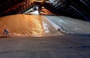 Storage Container Fumigation with Aluminium Phosphine Gas